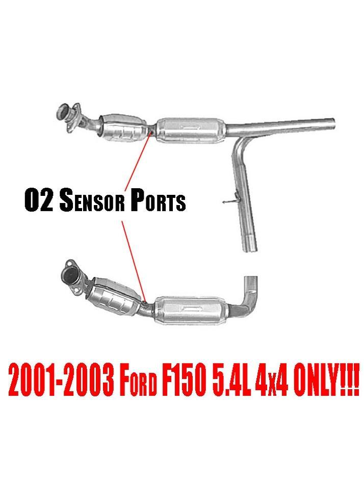 Ford F150 54l 4wd 0103 Heritage 4x4 04 Front Catalytic Rhebay: 03 F150 4x4 02 Sensor Location At Gmaili.net