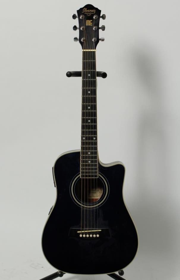 ibanez mini dreadnought daytripper acoustic electric guitar dtme tbl 1201 ebay. Black Bedroom Furniture Sets. Home Design Ideas