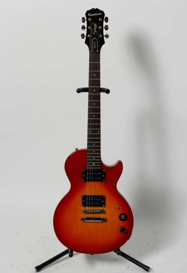 epiphone les paul special ii electric guitar ebay. Black Bedroom Furniture Sets. Home Design Ideas