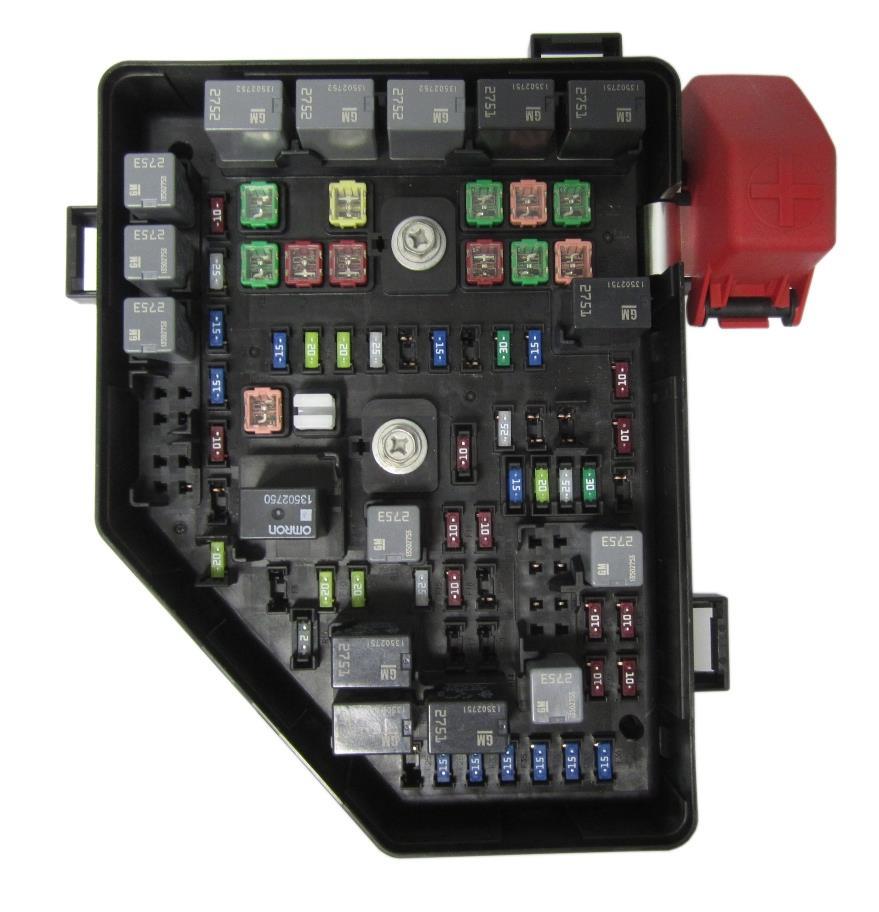 gm fuse panel new oem gm gmc 2009 acadia 3.6l v6 fuse and relay box ... gm fuse box diagram