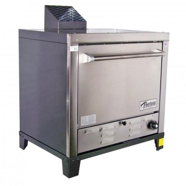 New Peerless Countertop 4-Deck Gas Pizza Oven, Model C131