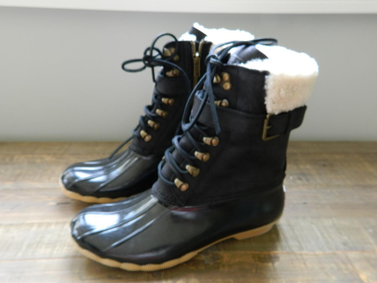 sperry top sider leather shearwater boots buckle b4254 6