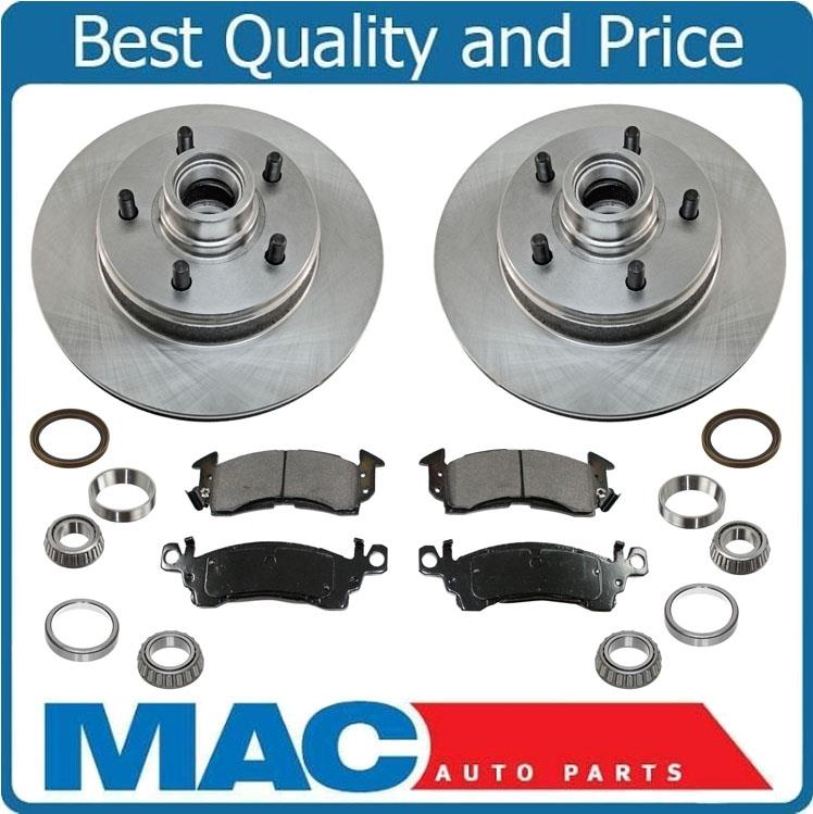 Front Rear Brake Rotors and Pads for 2003 2004 2005 Chevrolet Astro Base 4.3L