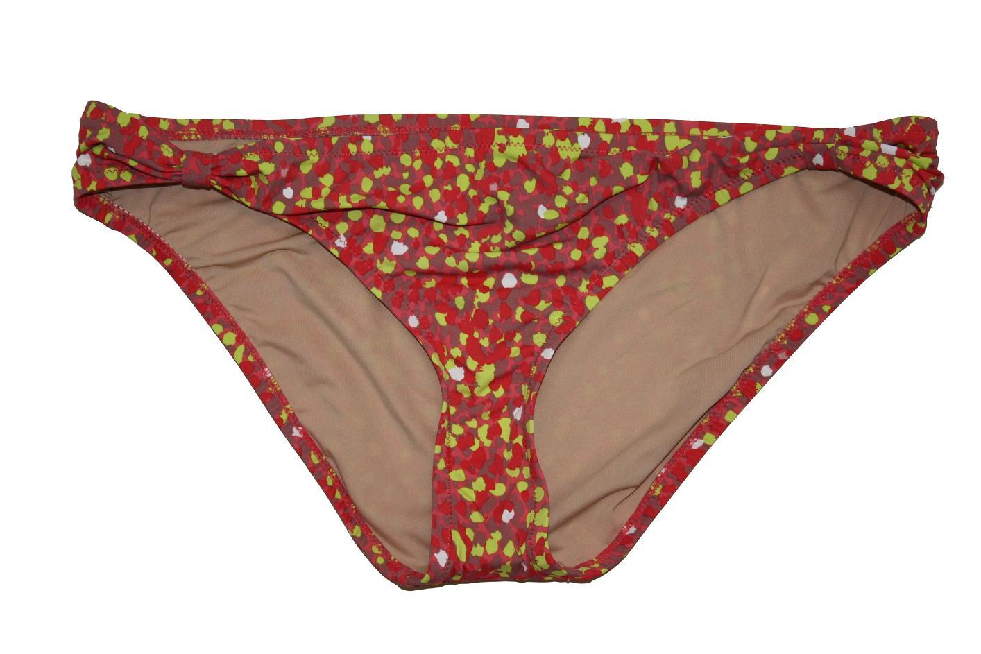 f8bbc1008a JCrew Splatter Dot Hipster Bikini Bottoms Bathing Suit 09691  44 Pink Multi  M