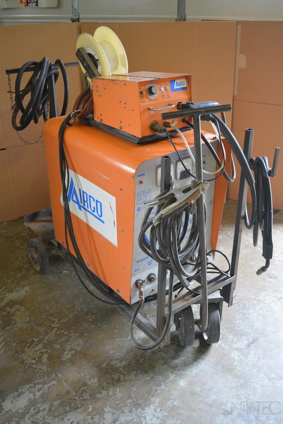 airco cv 300 welder 300amp mig welder wire feeder ebay. Black Bedroom Furniture Sets. Home Design Ideas