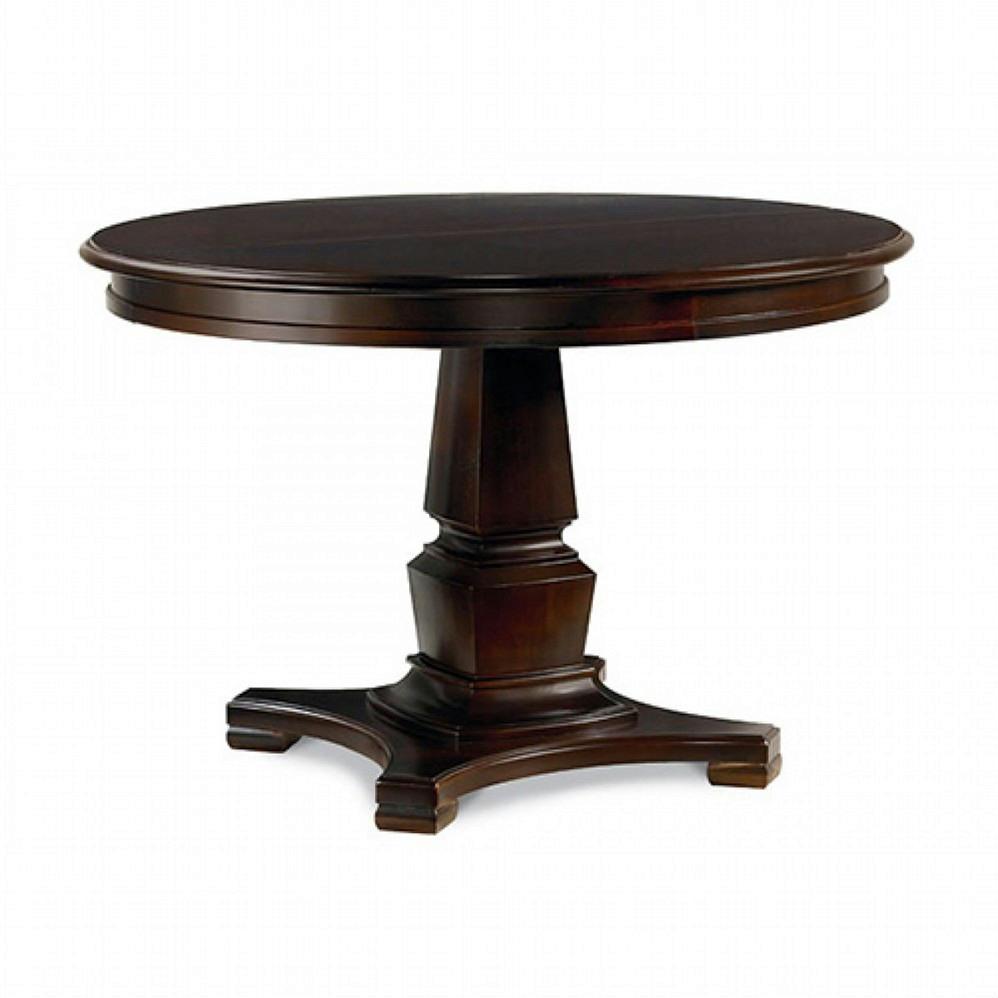 thomasville furniture bridges 2.0 round dining table & chairs