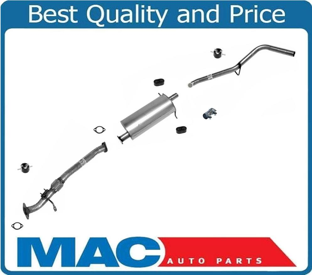 Muffler Tail Pipe For Nissan Frontier 2.4L King Cab RWD 98