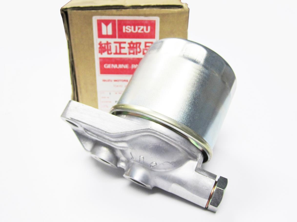 New Isuzu Fuel Filter Housing With Bracket Mount Adapter 8 2000 Mustang Location 94153850 0