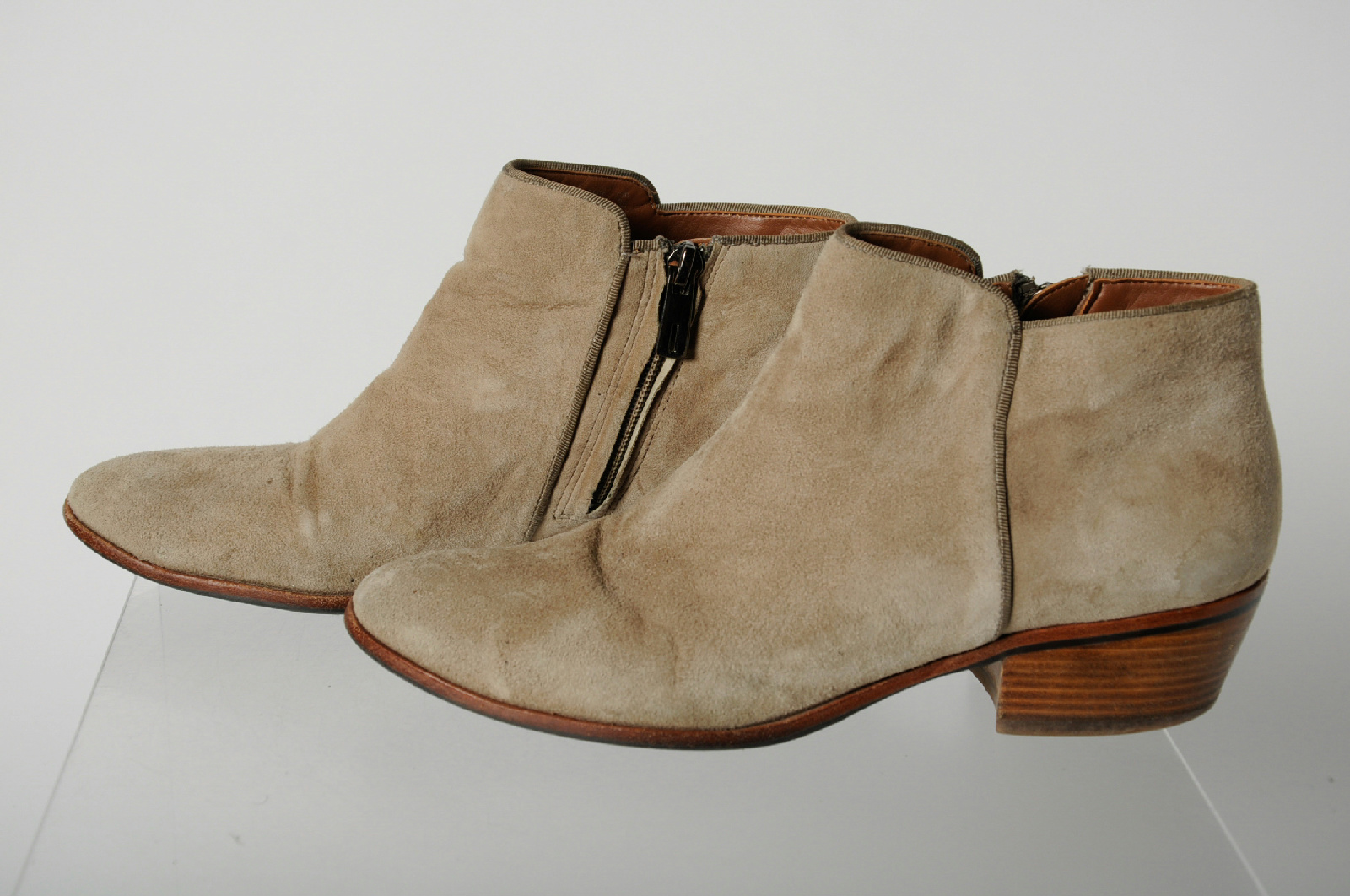 Light Brown Leather Shoes Condition