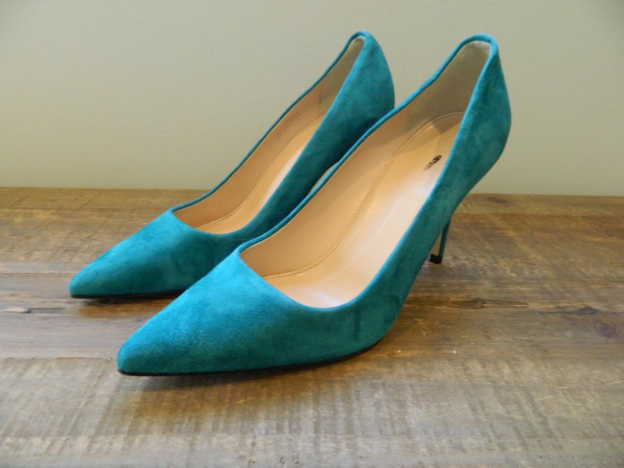 J Crew Elsie Suede Pumps Heels Shoes