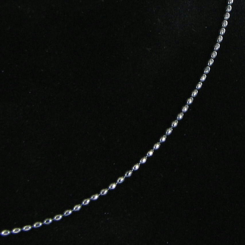 Pandora 590712ox 80 80cm 31 5 Necklace Oxidized Ball
