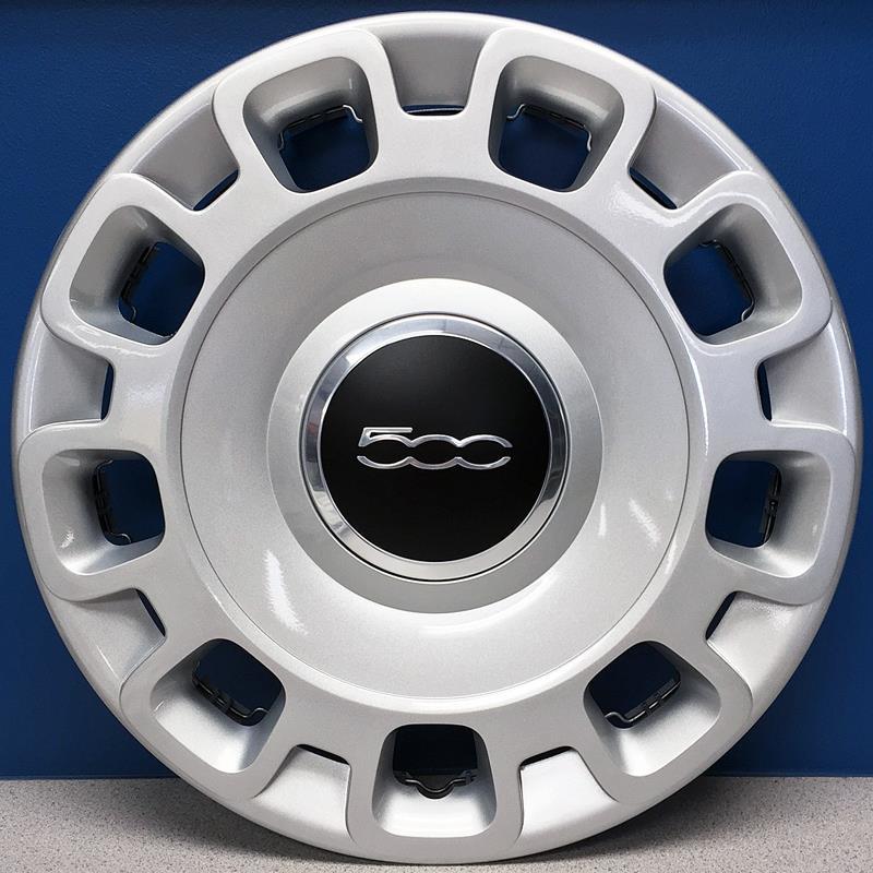 "Genuine Factory Oem 2012 Fiat 500 C Pop L4 1: ONE 2012-2017 Fiat 500 Pop # 57579 15"" Hubcap / Wheel"