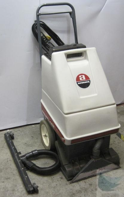 Advance aquaclean model 262500 floor carpet extractor carpet cleaner working ebay - Advance carpet extractor ...