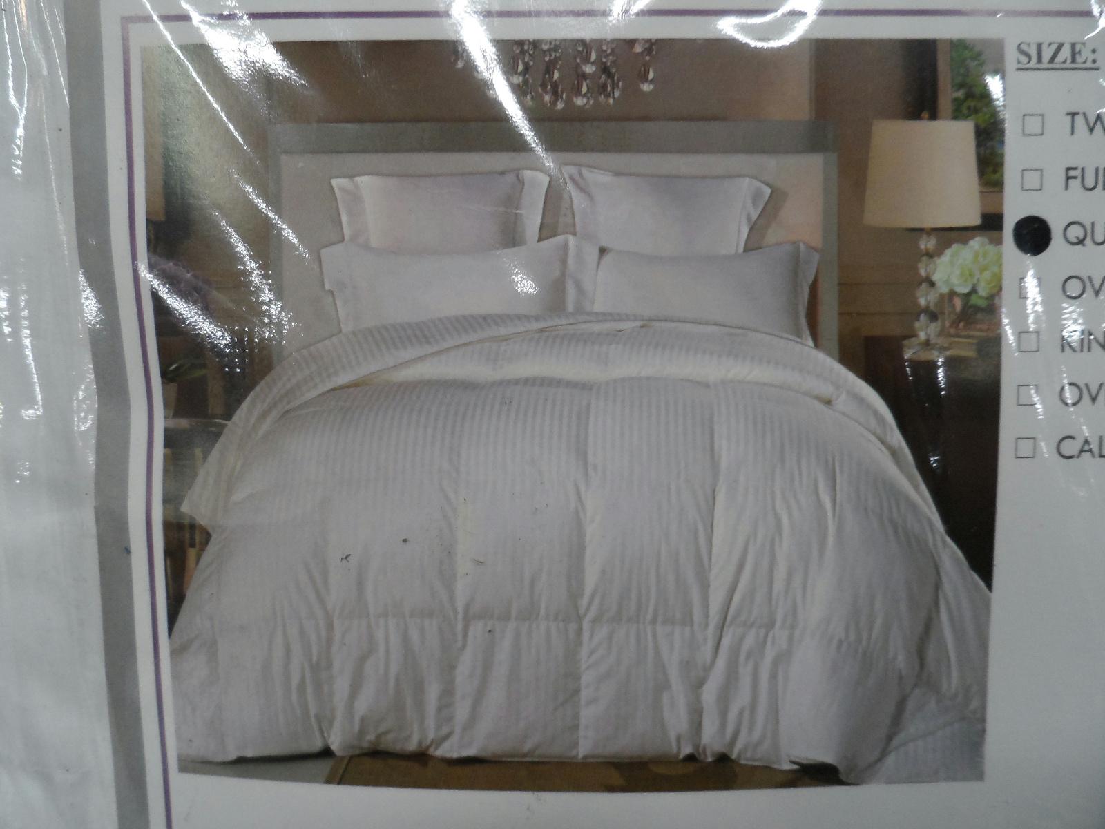 natural comfort soft luxurious 300tc sateen down alternative