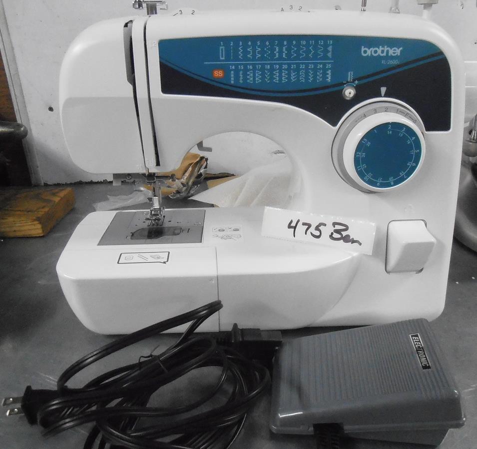 xl2600i sew advance sewing machine
