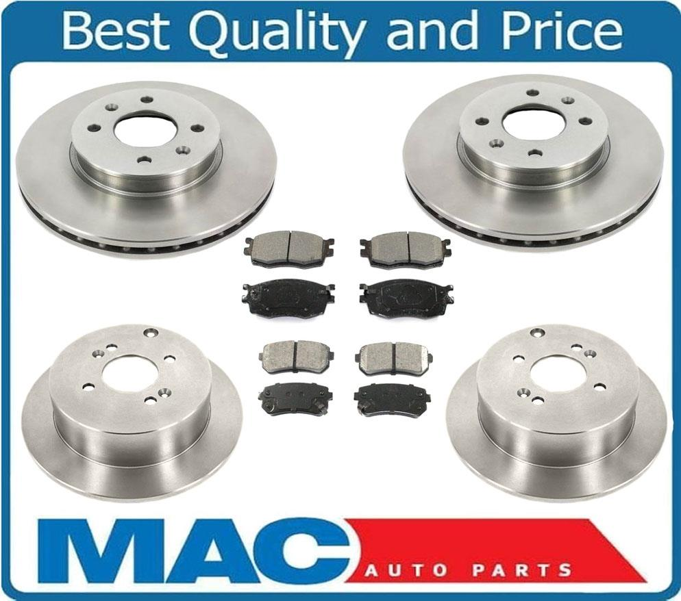 Rotors Metallic Pads F 2011 Fits Hyundai Accent OE Replacement