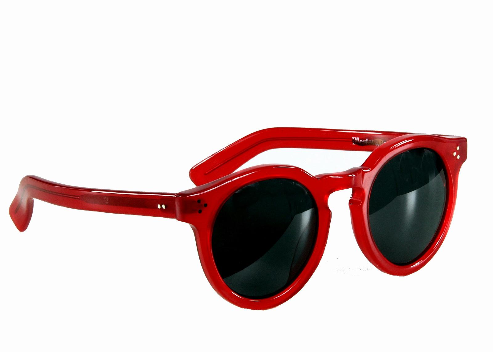 Illesteva Leonard Ii Vermelho Óculos De Sol J Crew C8079   eBay 8ce908d6aa