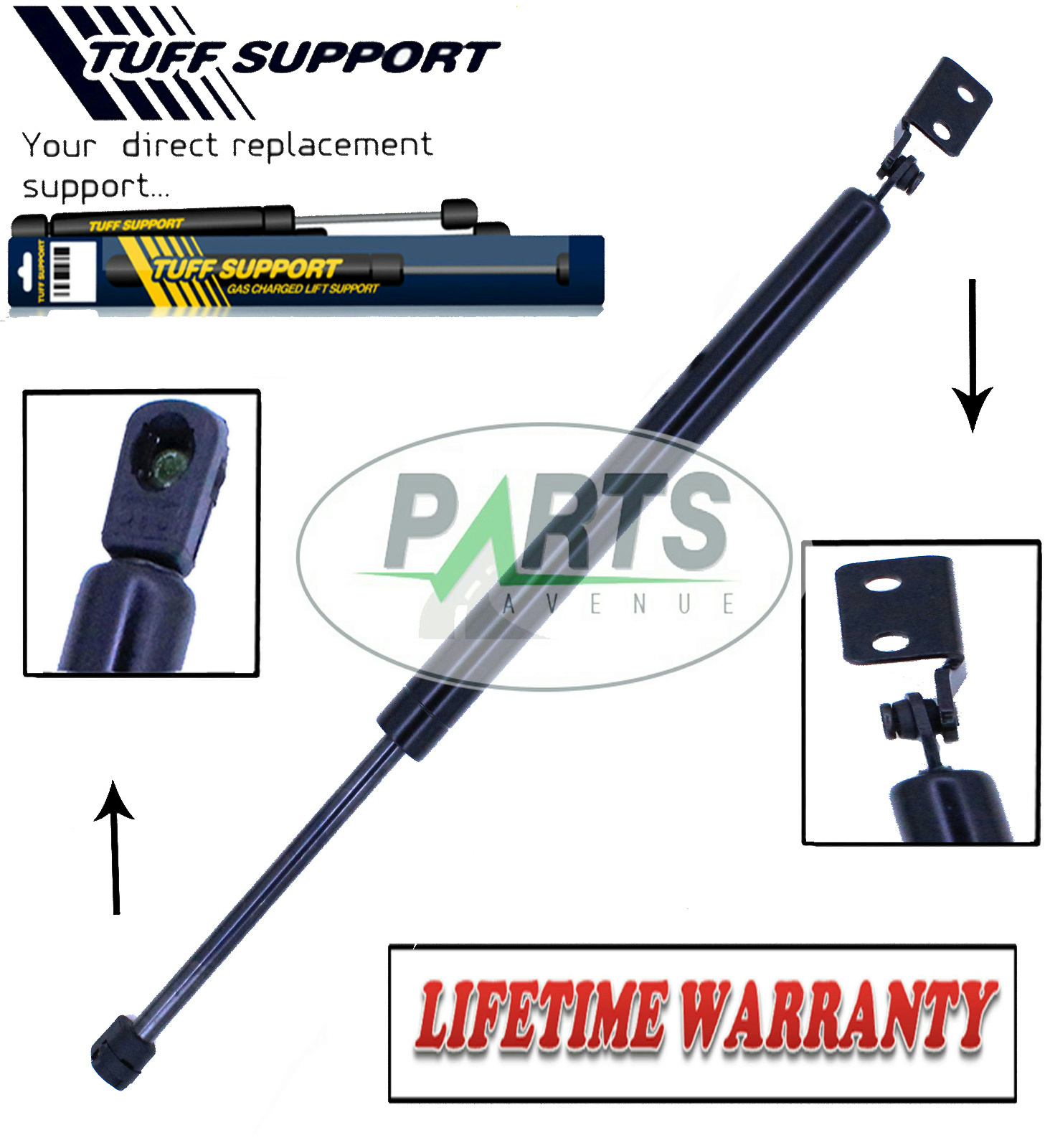 2 REAR GATE TRUNK LIFTGATE TAILGATE DOOR HATCH LIFT SUPPORTS SHOCK FIT MAZDA MPV