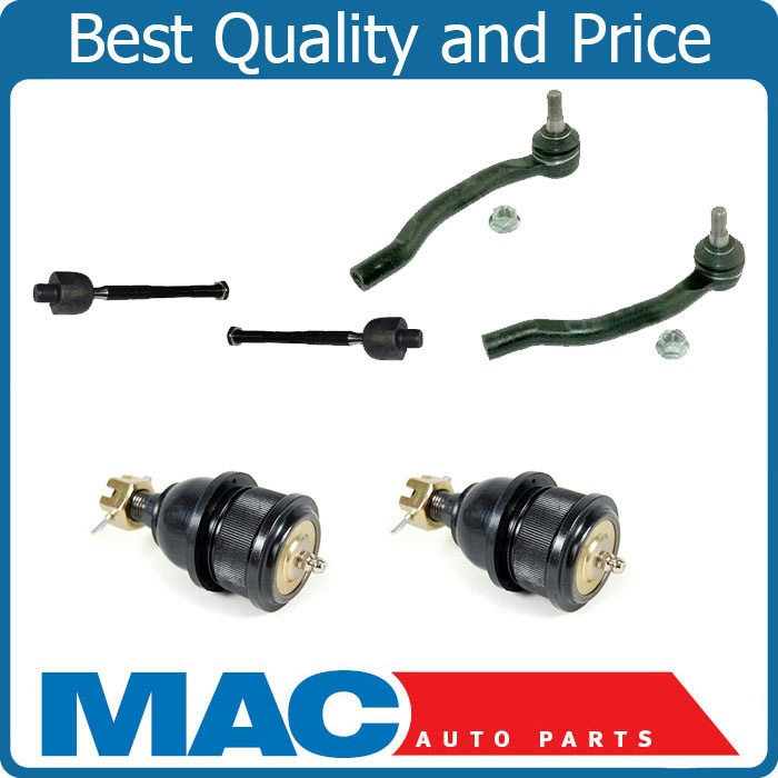 Inner Outer Tie Rod Ends Lower Ball Joints For 01-06 Acura