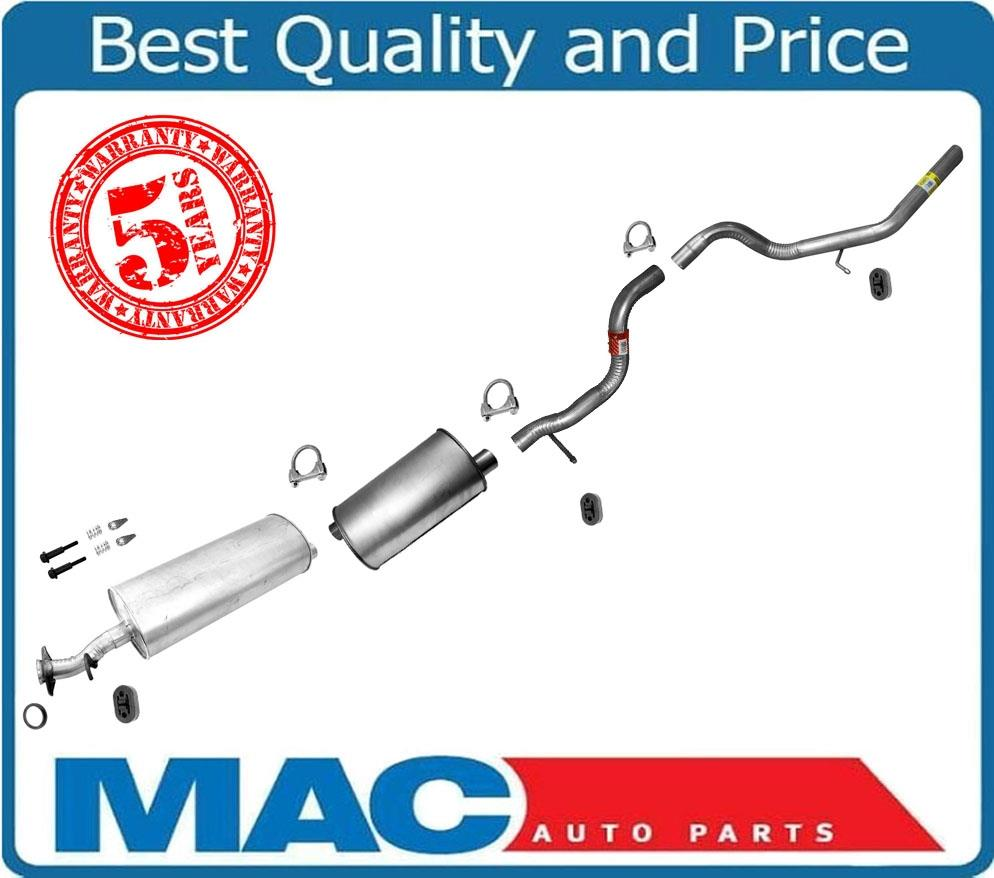 100/% New Muffler Exhaust System Made in USA for Ford Expedition 4.6L ONLY 97-98