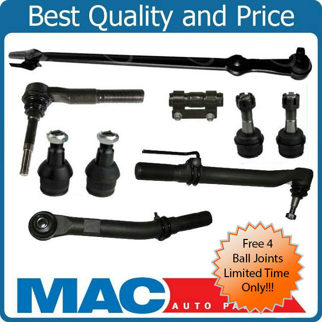 05 16 Ford F250 F350 Super Duty Out Tie Rod Ends Drag Link