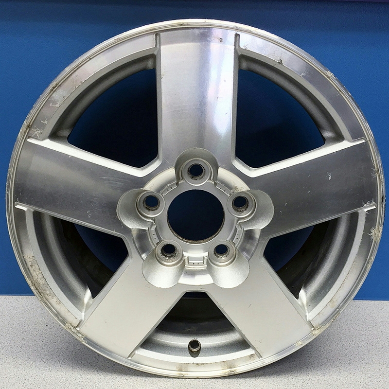 39 05 09 chevrolet equinox 5232 16 5 spoke aluminum wheel rim gm part 9595553 ebay. Black Bedroom Furniture Sets. Home Design Ideas