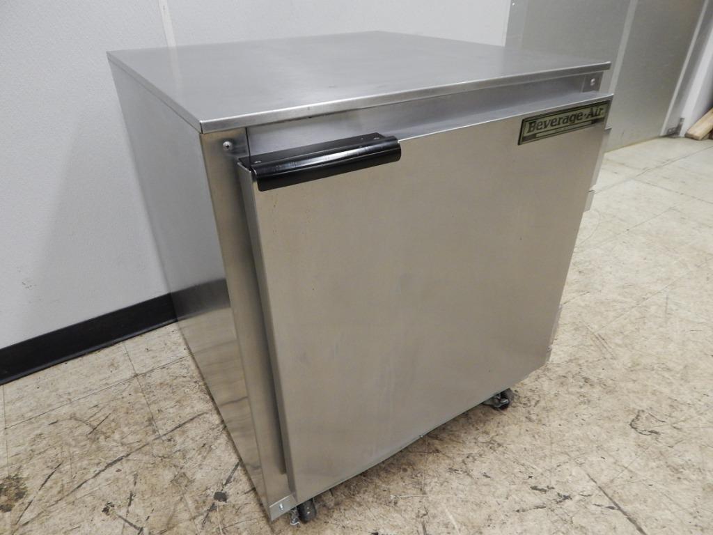 Beverage air undercounter 1 door refrigerator 27 wide for 1 door chiller