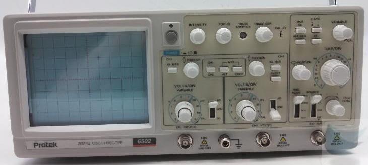 Pro Tek Oscilloscope : Protek mhz ch dual trace oscilloscope tested