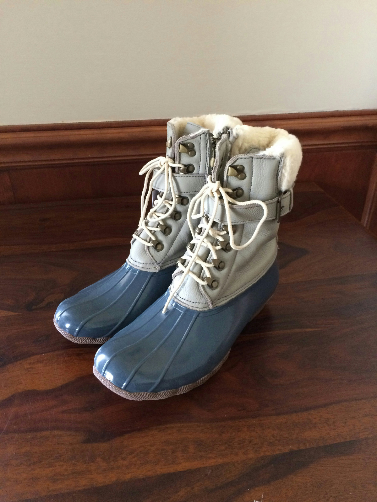 sperry top sider j crew leather shearwater boots boulder