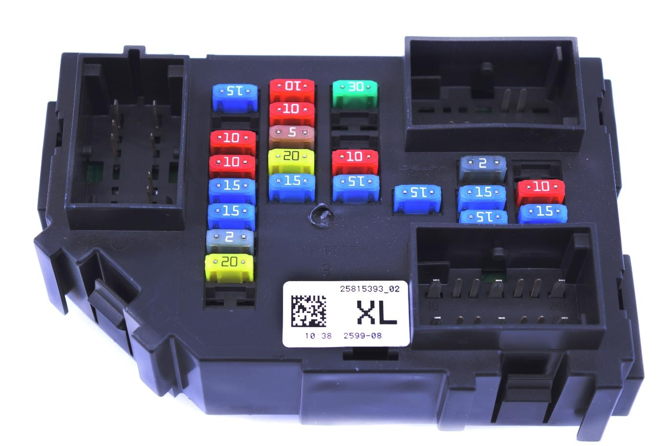 Delphi Fuse Box 2005 Chevy Z71 Tahoe Interior Wiring Diagrams New Gm 2007 2011 Silverado 2500hd Relay Junction Block