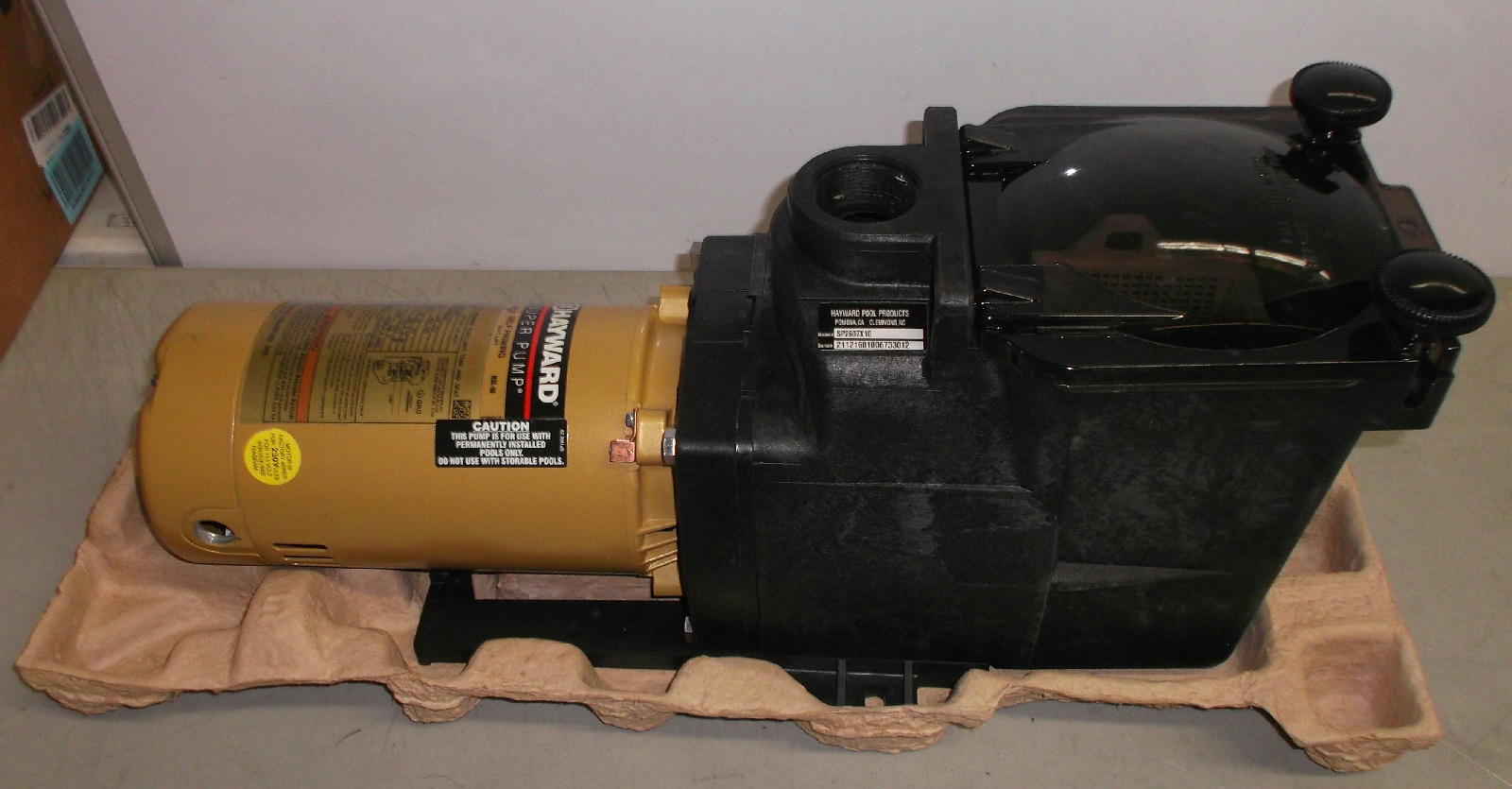 Hayward Sp2607x10 Super Pump 1 Hp Max Rated Single Speed