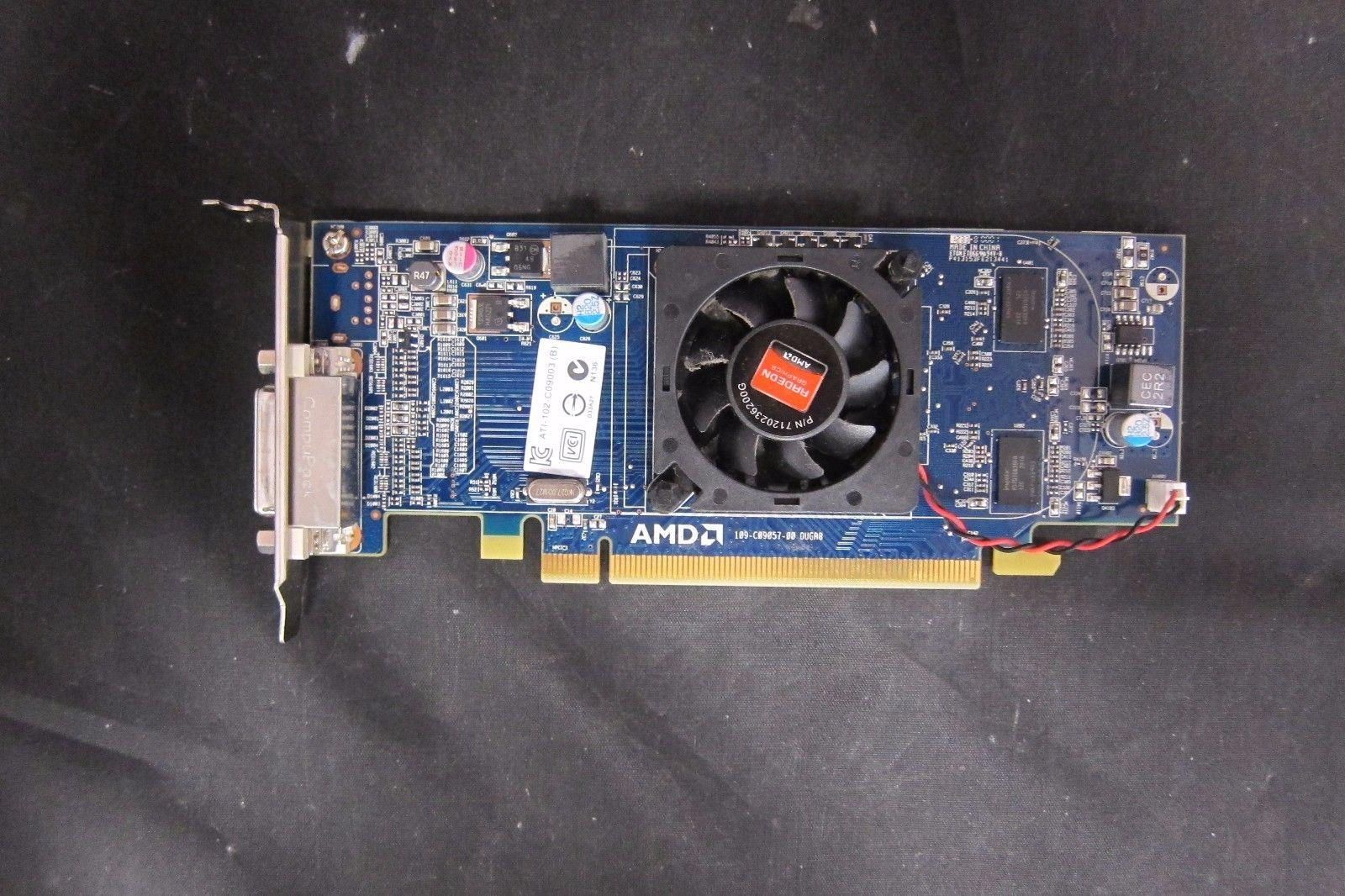 LOT of 10 Dell AMD Radeon HD6350 Video Graphics Card DMS59 VGA Cable Low SFF