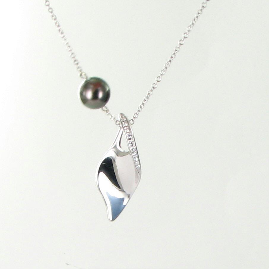 mikimoto necklace south sea 9mm black pearl. Black Bedroom Furniture Sets. Home Design Ideas