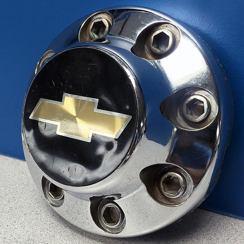 Used Steel Wheels : Chevrolet truck van lug steel wheel