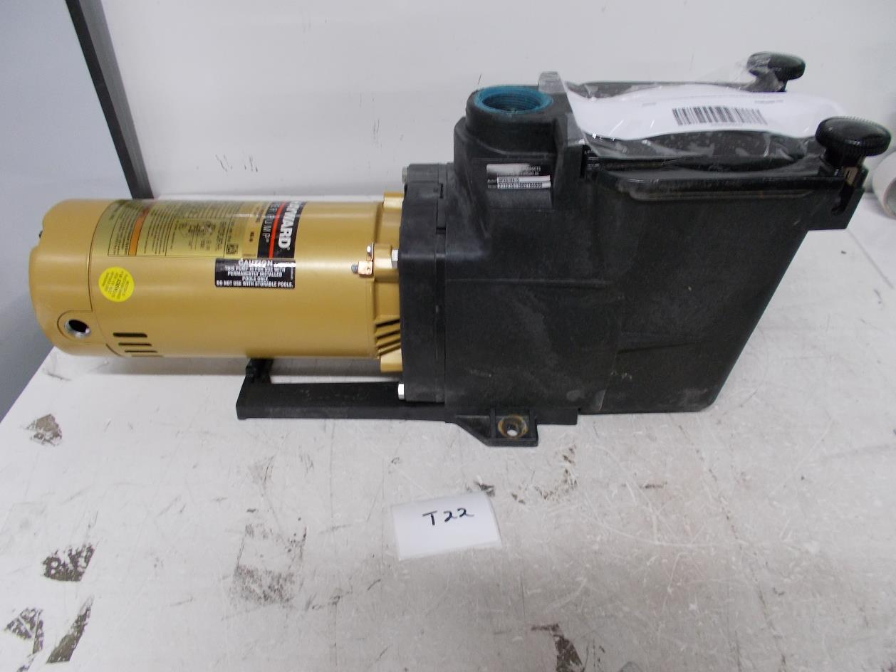 Hayward Sp2610x15 Super Pump 1 5 Hp Max Rated Single Speed