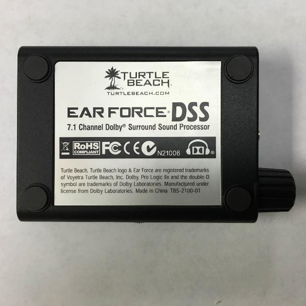 Turtle Beach Ear Force Dss 71 Dolby Surround Sound Processor For