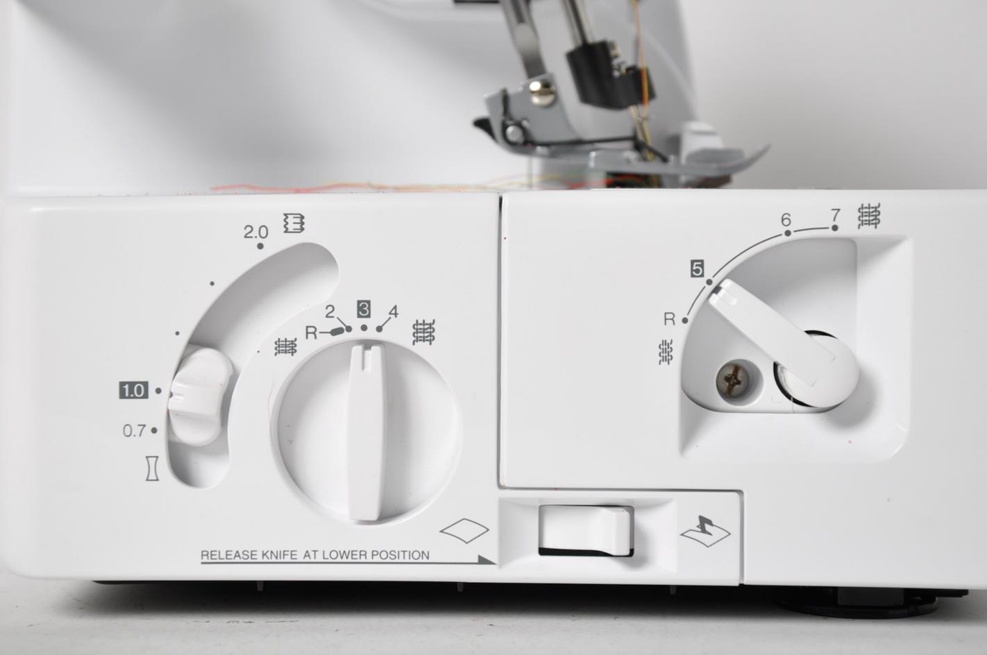 portable serger sewing machine