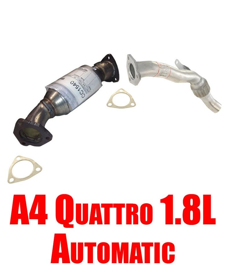 For 97-01 A4 Quattro W// Manual Transmission Only 1.8T Turbo Engine Flex Pipe NEW