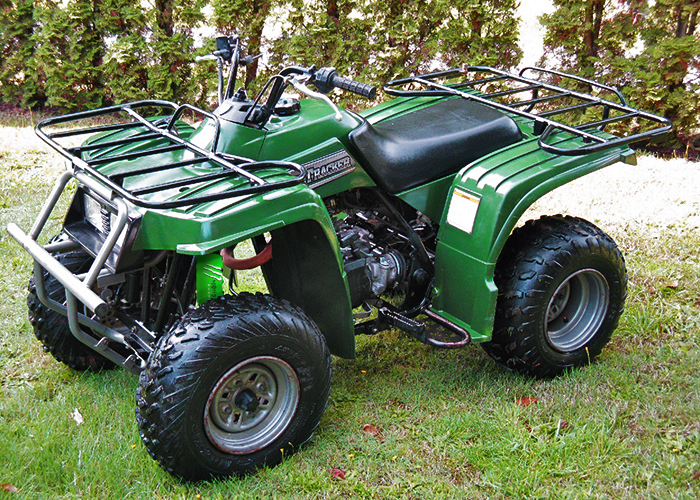 green shock covers yamaha grizzly 125 beartracker. Black Bedroom Furniture Sets. Home Design Ideas