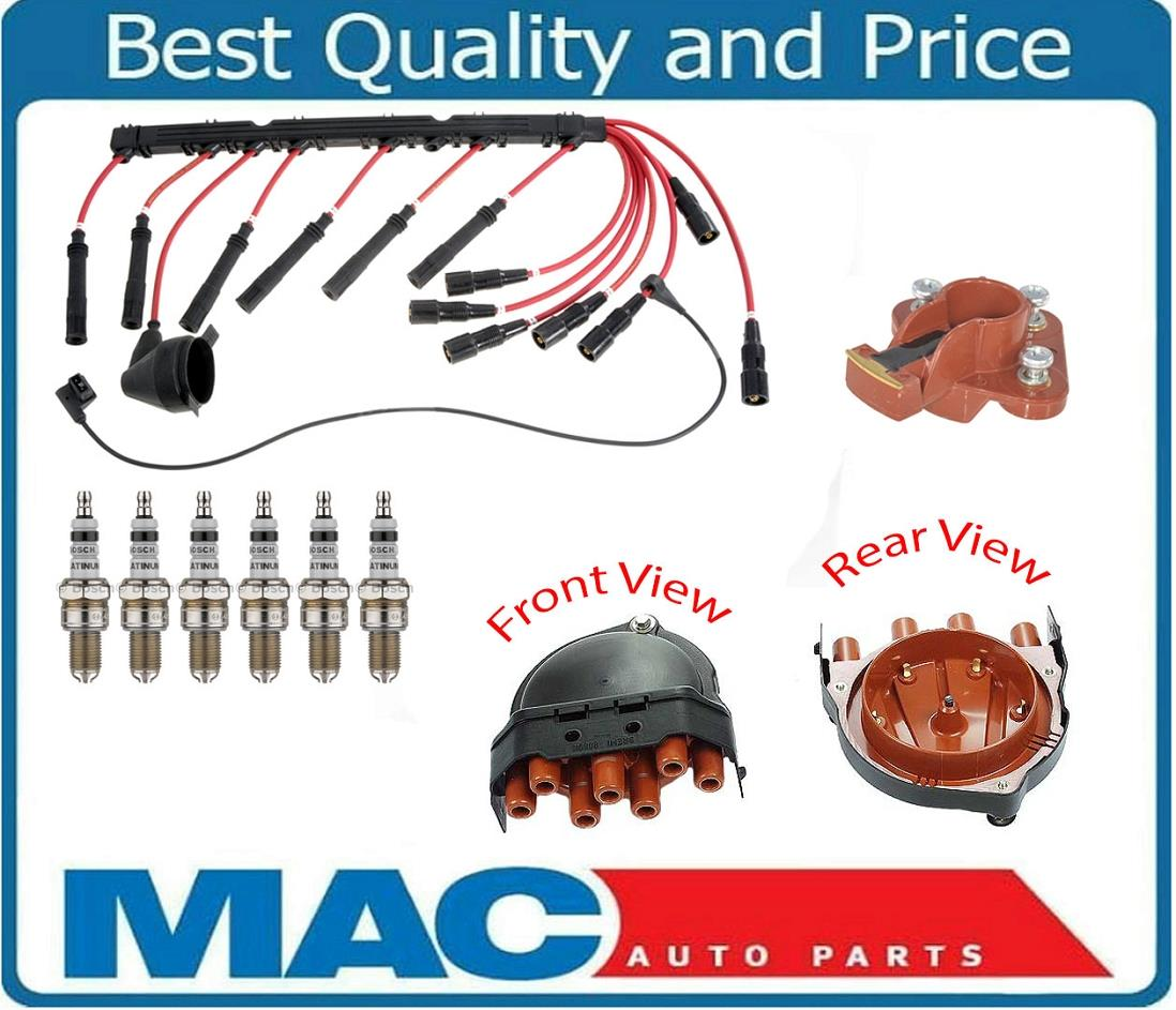 1987-1993 BMW 325i 325ic 325is Ignition Wires Cap & Rotor