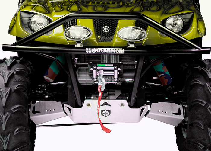 Black Skull Shock Covers Yamaha Viking 700 EPS Set 4 Wolverine R-Spec 2 Seat
