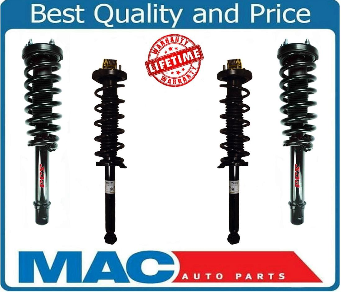 For 04-08 Acura TL 3.2L Front & Rear Complete Strut