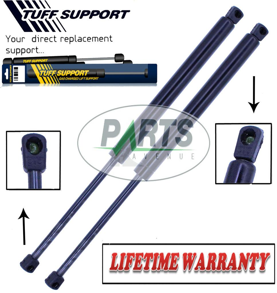 Two Rear Trunk Lift Supports Shock Strut Prop Rod Arm For 03-08 G35 Sedan Only