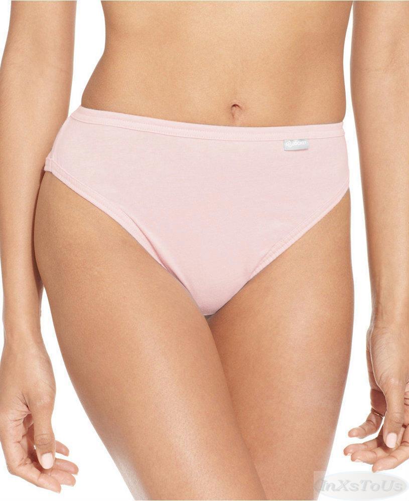 6 Pr Womens Jockey Elance French Cut Cotton Underwear Pink ...