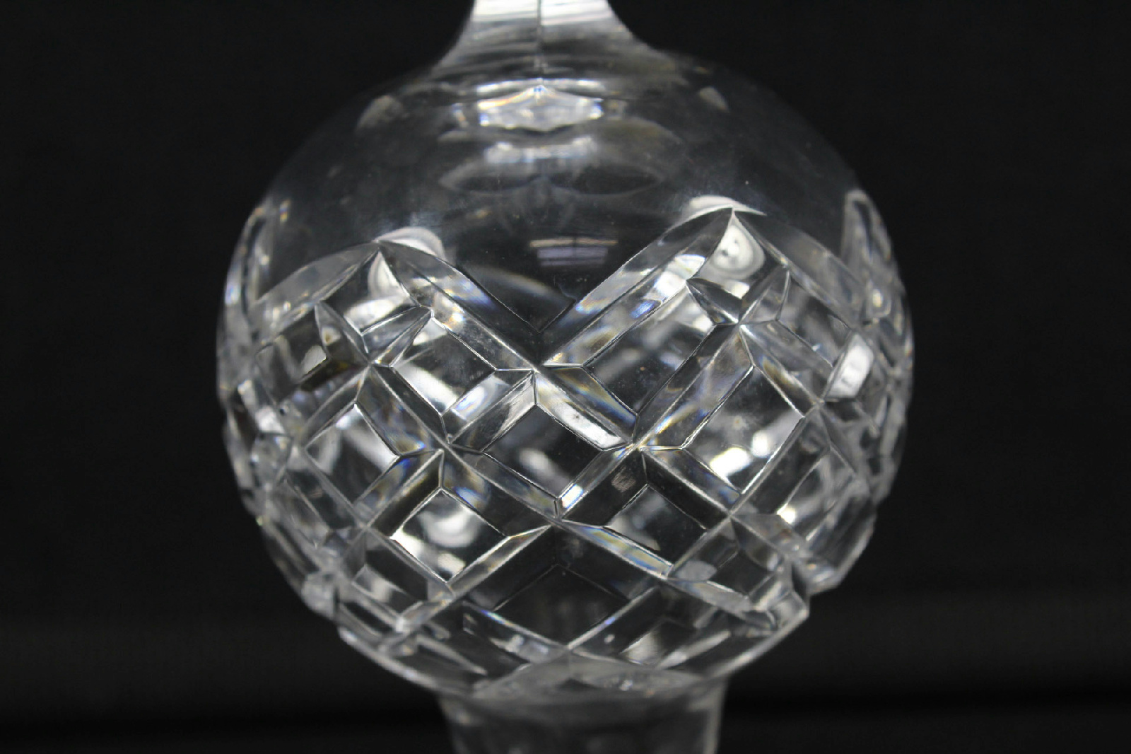 Waterford cut glass crystal tree top topper christmas