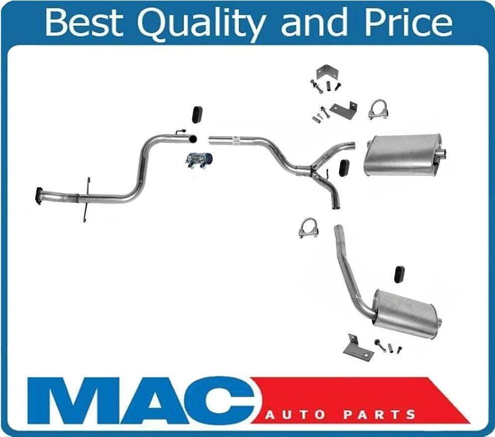 1993 Pontiac Grand Prix Camshaft: 1990-1993 Grand Prix 3.1L Dual Exhaust Pipe Muffler System