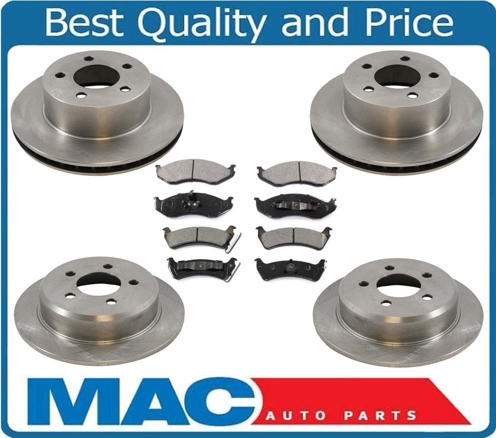 1993 1998 Jeep Grand Cherokee Front Amp Rear Rotors Amp With