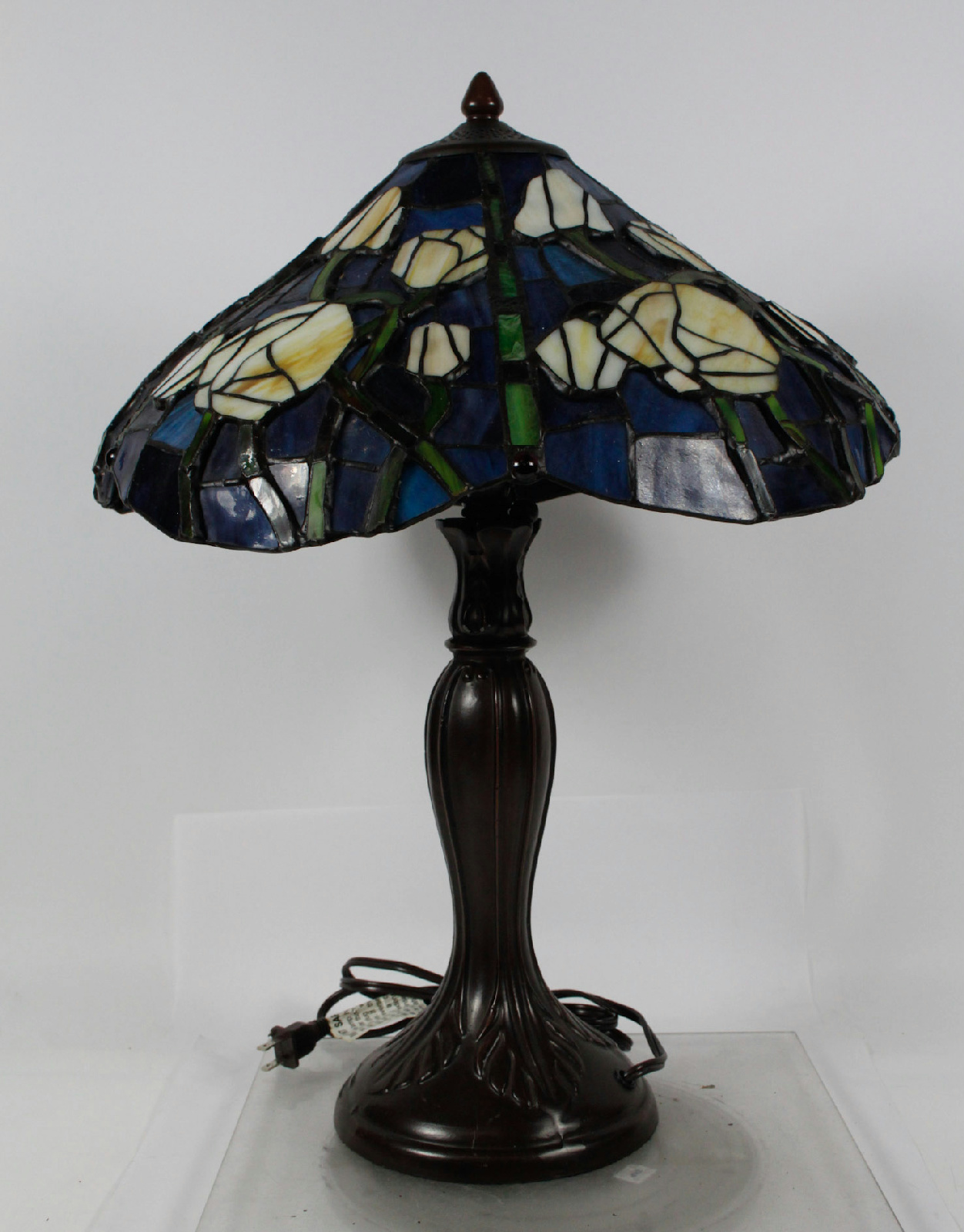 tiffany style modern stain glass table lamp ebay. Black Bedroom Furniture Sets. Home Design Ideas