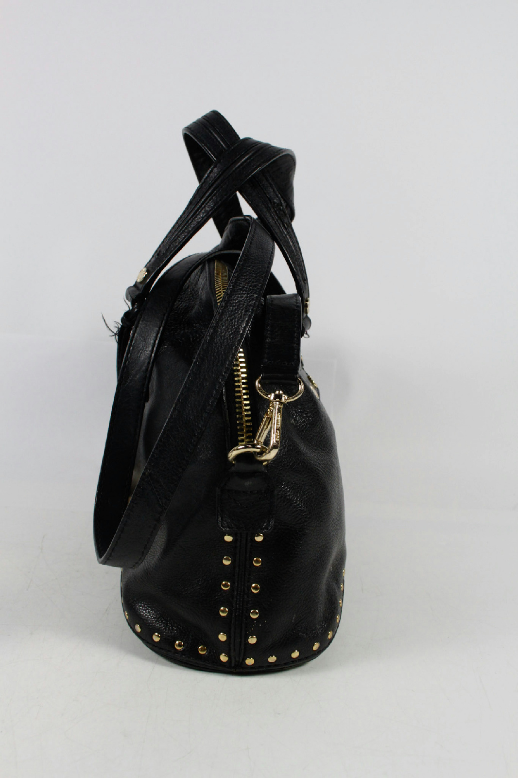 Women's Black Studded Leather Shoulder Bag $1, $ From Rue La La Price last checked 12 hours ago Product prices and availability are accurate as of .