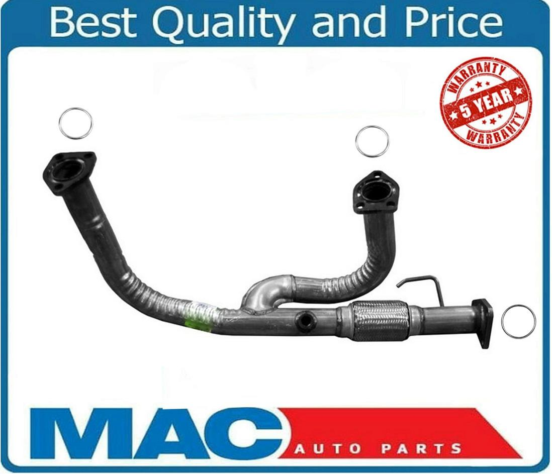 Fits 2003 To 2011 Acura MDX Honda Pilot//Rigdeline Front Flex Y Pipe 3.5L